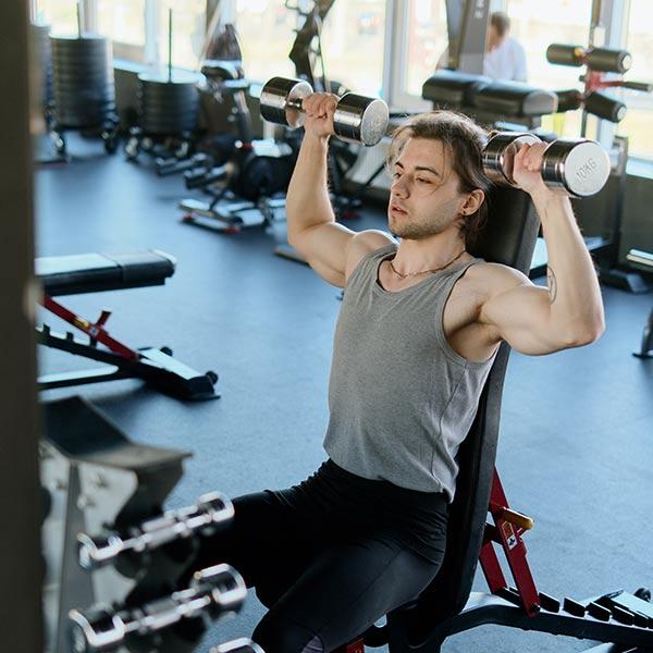 FRIDA Luftreinigung Fitnessstudio
