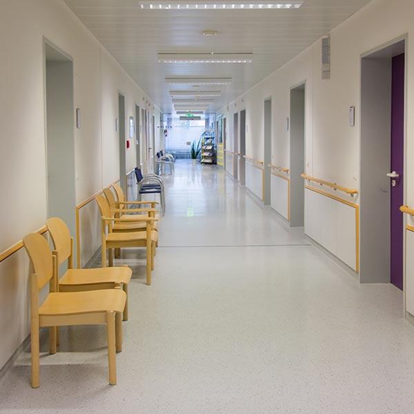 FRIDA Luftreinigung Krankenhaus