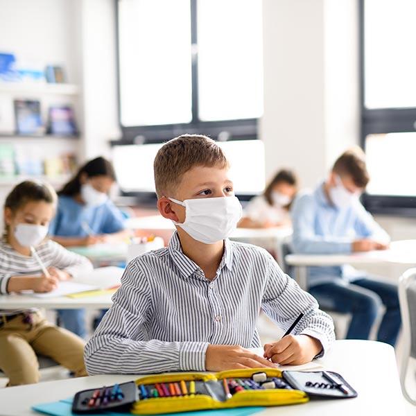 FRIDA Luftreiniger Schule