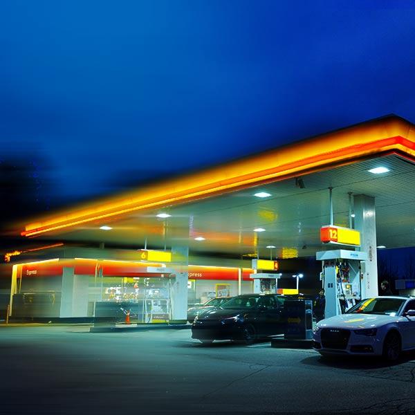 FRIDA Luftreinigung Tankstelle
